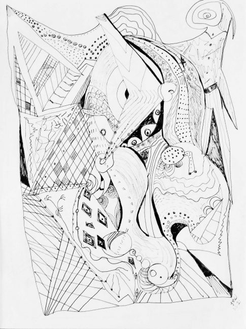 Untitled Pen and ink