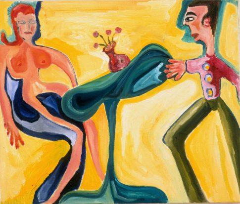 power balance 2003 20x24 oil on canvas