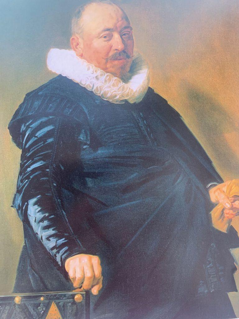 Frans Hals Portrait of an Elderly Man. Photograph of a photograph.