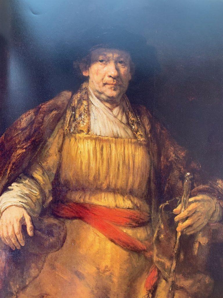 Renbrandt Self Portrait. 1658
