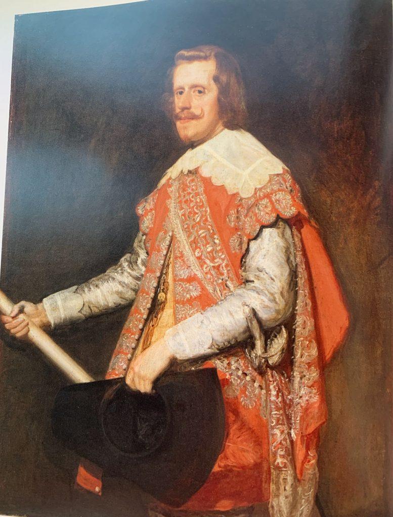 Velazquez.King Philip IV of Spain. 1644.