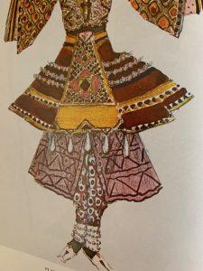 Leon Bakst. Costume design.