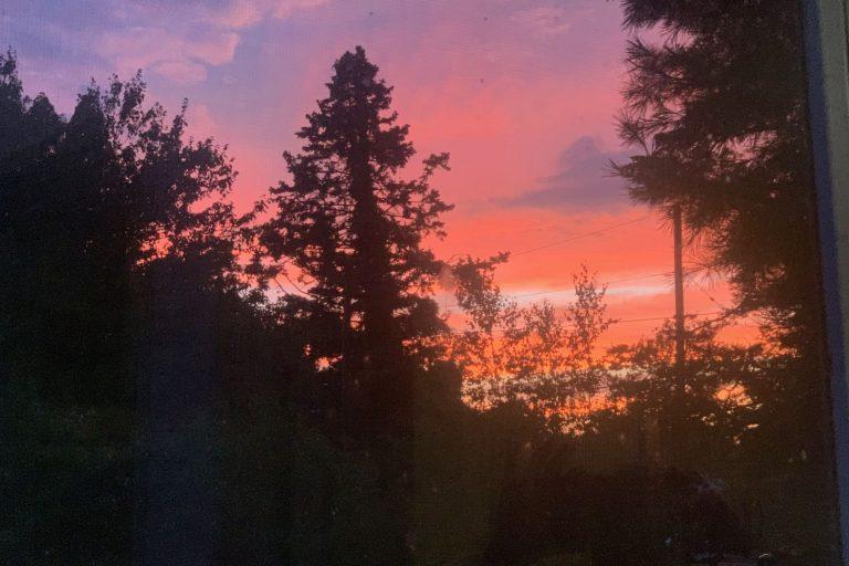 sunset July 24 2020