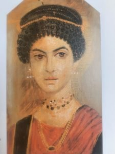 portrait of a young woman Roman Egypt 100AD